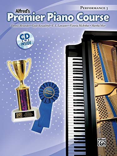 9780739047354: Premier Piano Course Performance, Bk 3: Book & CD