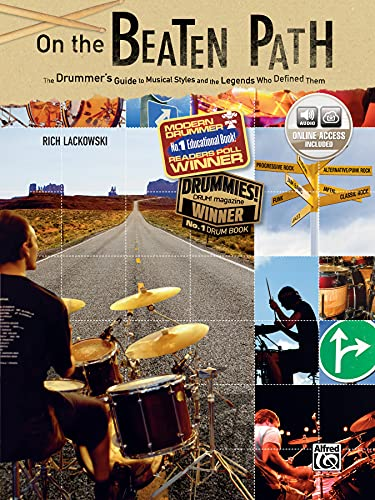 9780739047392: On the Beaten Path: The Drummers Guide to Musical Styles and the Legends Who Defined Them, Book & CD