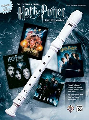 9780739047460: Harry Potter Selections (recorder) --- Flûte à bec solo - Williams, John --- Alfred Publishing
