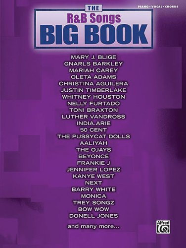 9780739047644: The R&B Songs Big Book Mixed Folio For Piano/Vocal/Chords Book (The Big Book Series)