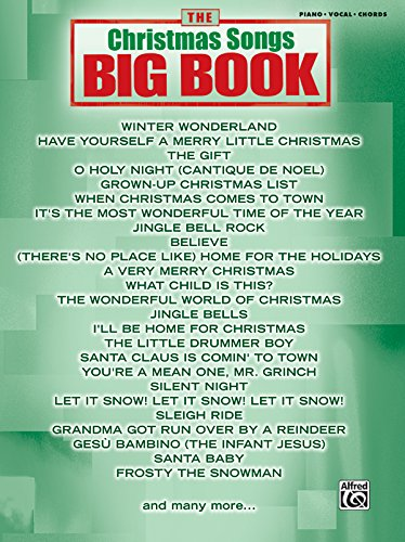 9780739047651: The Christmas Songs Big Book: Piano/Vocal/Chords (The Big Book Series)