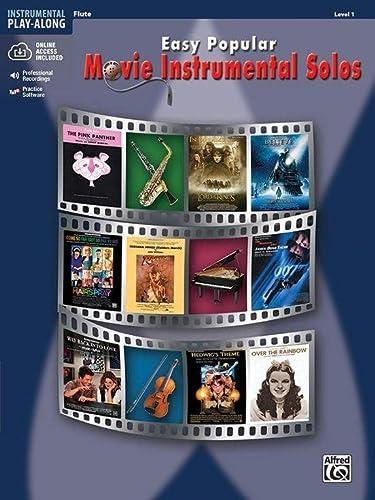 9780739047736: Easy Popular Movie Instrumental Solos: Flute, Book & CD (Easy Instrumental Solos)