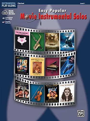 9780739047743: Easy Popular Movie Instrumental Solos: Clarinet, Book & CD (Easy Instrumental Solos)