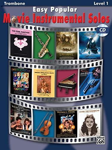 9780739047798: Easy Popular Movie Instrumental Solos: Trombone (Pop Instrumental Solo Series, Level 1)