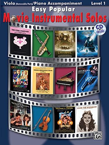 9780739047828: Easy Popular Movie Instrumental Solos for Strings: Viola, Book & CD (Pop Instrumental Solo Series)