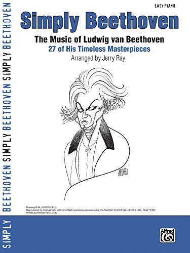 9780739047965: Simply Beethoven: The Music of Ludwig Van Beethoven -- 27 of His Timeless Masterpieces (Easy Piano) (Simply Series)