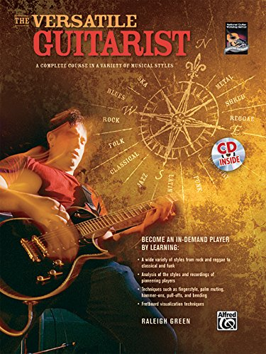 9780739048054: The Versatile Guitarist: A Complete Course in a Variety of Musical Styles (National Guitar Workshop Method)