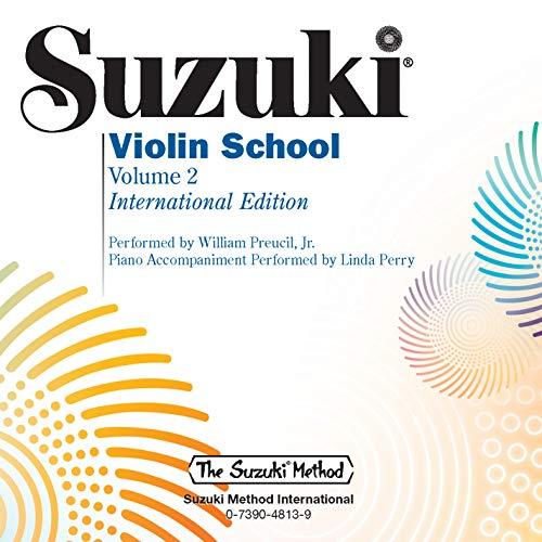 9780739048139: Suzuki Violin School, Vol 2 (CD)