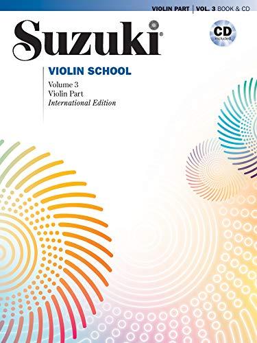 9780739048177: Suzuki Violin School: Violin Part & CD, Vol. 3