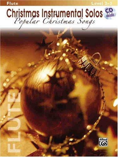 9780739048665: Christmas Instrumental Solos -- Popular Christmas Songs: Flute (Book & CD)