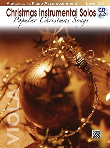 9780739048757: Christmas Instrumental Solos -- Popular Christmas Songs for Strings: Viola (with Piano Acc.), Book & CD