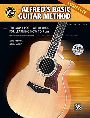9780739048931: Alfred's Basic Guitar Method - Complete (Book & CD's) (Alfred's Basic Guitar Library)