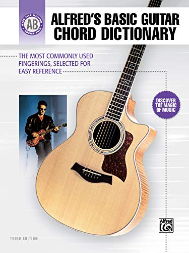 9780739048979: Alfred's Basic Guitar Chord Dictionary: The Most Commonly Used Fingerings, Selected for Easy Reference (Alfred's Basic Guitar Library)