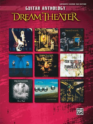 9780739049198: Dream Theater Guitar Anthology: Authentic Guitar Tab Edition