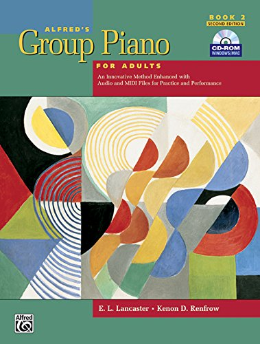 9780739049259: Alfred's Group Piano for Adults: Student Book 2, 2nd Edition (Book & CD-ROM)
