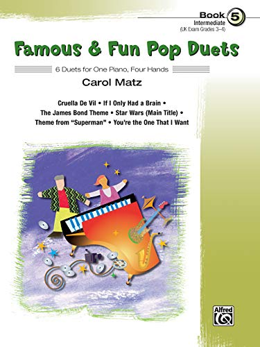 9780739049600: Famous & Fun Pop Duets Book 5 (Intermediate Piano)