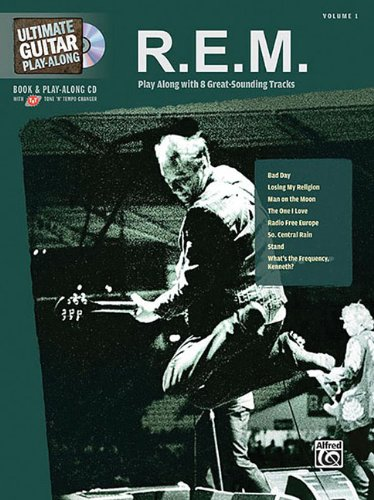9780739049730: R.E.M. Ultimate Guitar Play Along Whith 8 Great Sounding Tracks Volume 1 CD Included (Ultimate Play-Along)