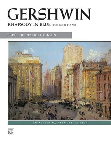 9780739049822: Rhapsody in Blue: Solo Piano Version (Alfred Masterwork Edition)