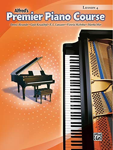 9780739049839: Premier Piano Course Lesson Book, Bk 4 (Alfred's Premier Piano Course)