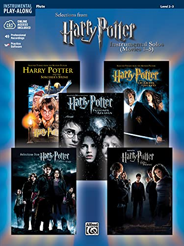 9780739049884: Harry Potter Instrumental Solos (Movies 1-5): Flute, Book & CD (Pop Instrumental Solo Series)
