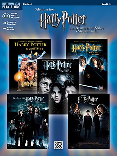 9780739049891: Harry Potter Instrumental Solos (Movies 1-5): Clarinet, Book & CD (Pop Instrumental Solos Series)