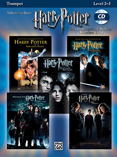 9780739049921: Harry Potter Instrumental Solos (Movies 1-5): Trumpet, Book & CD (Pop Instrumental Solo Series)