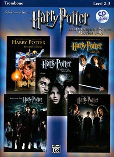 9780739049945: Harry Potter Instrumental Solos (Movies 1-5): Trombone (Book & CD) (Pop Instrumental Solo Series)