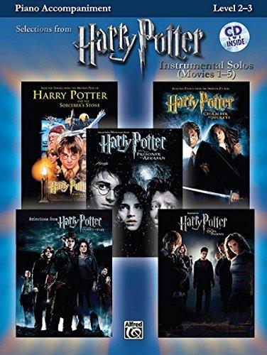 9780739049952: Harry Potter Instrumental Solos (Movies 1-5): Piano Acc. (Book & CD) (Pop Instrumental Solo Series)