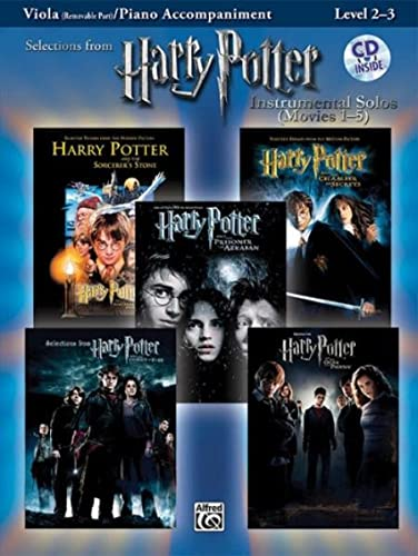 9780739049976: Harry Potter Instrumental Solos for Strings (Movies 1-5) : Viola (Book & CD) (Pop Instrumental Solo Series)