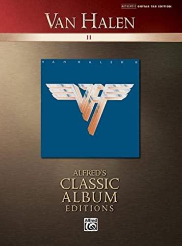 9780739049990: Van Halen II: Authentic Guitar Tab