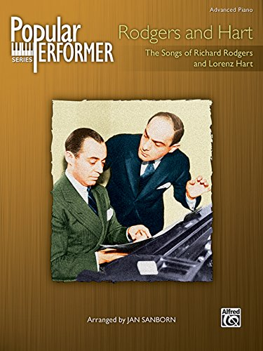 9780739050125: Popular Performer -- Rodgers and Hart: The Songs of Richard Rodgers and Lorenz Hart (Popular Performer Series)