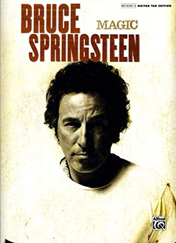Bruce Springsteen- Magic- Songbook (Guitar Tablature) (073905032X) by Bruce Springsteen