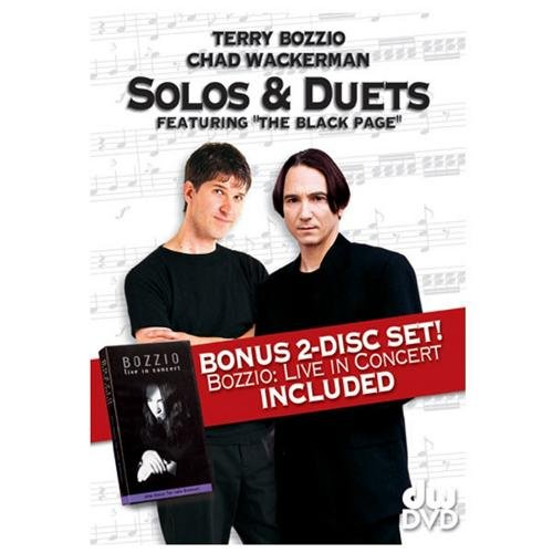 "9780739050538: Terry Bozzio and Chad Wackerman -- Solos & Duets: Featuring """"The Black Page"""" (2 DVDs)"