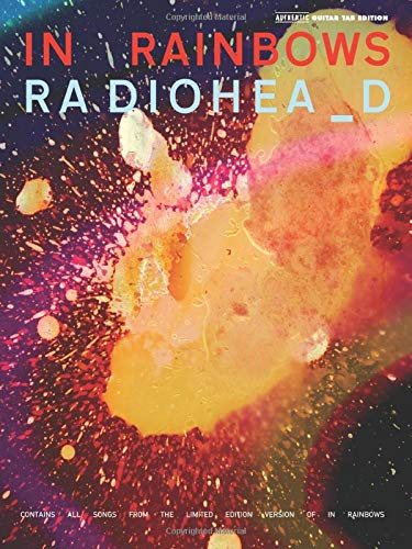 9780739051078: Radiohead In Rainbows Guitar Tab Book (Authentic Guitar-Tab Editions)