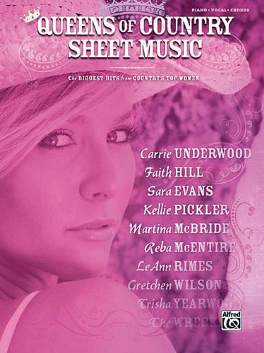 9780739051184: Queens of Country Sheet Music: Piano/Vocal/chords