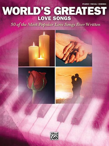 9780739051238: World's Greatest Love Songs Piano Vocal And Chords Book