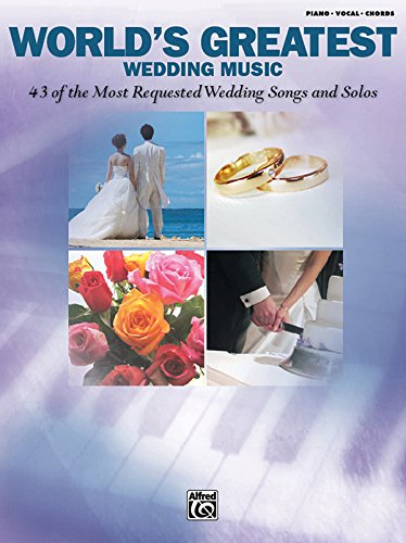 9780739051245: World's Greatest Wedding Music: Piano/Vocal/Chords
