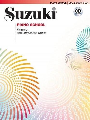 9780739051665: Suzuki Piano School, Vol 2: Book & CD