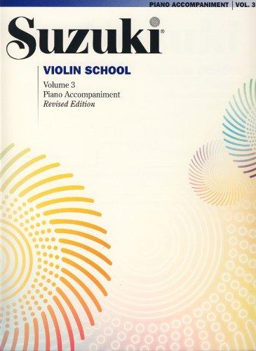 9780739051924: Suzuki Violin School, Vol 3: Piano Acc (Suzuki Method Core Materials)
