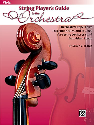 9780739051955: String Player's Guide To The Orchestra- Viola