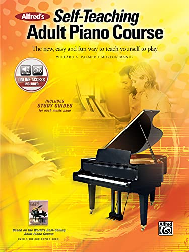 9780739052051: Alfred's Self-Teaching Adult Piano Course: The New, Easy and Fun Way to Teach Yourself to Play, Book & CD (Abpl)