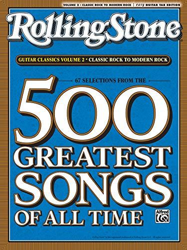 9780739052211: RollingStone guitar classics, volume 2: Classic Rock to Modern Rock (Rolling Stones Classic Guitar)
