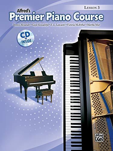 9780739052327: Premier Piano Course Lesson Book, Bk 3: Book & CD