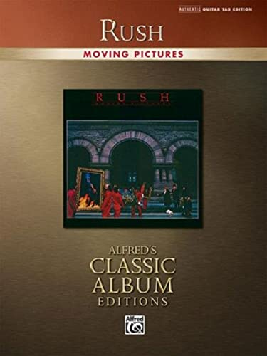 9780739052341: Rush -- Moving Pictures: Authentic Guitar TAB (Alfred's Classic Album Editions)