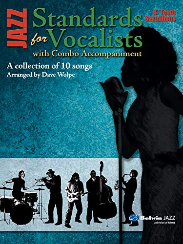 9780739052471: Jazz Standards for Vocalist: Tenor Saxophone