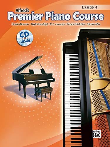 9780739052556: Premier Piano Course Lesson Book, Bk 4: Book & CD