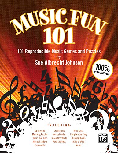 9780739052563: Music Fun 101: 101 Reproducible Music Games and Puzzles