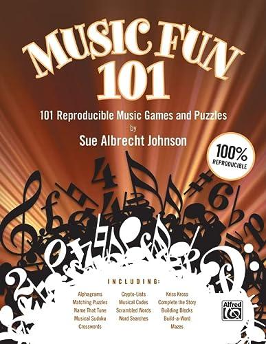 9780739052563: Music Fun 101: 101 Reproducible Music Games and Puzzles (Teacher's Handbook) (Comb Bound Book)