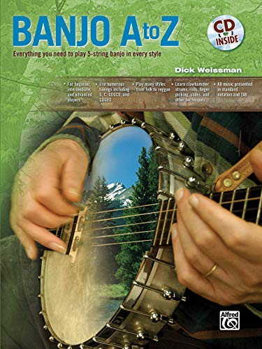 9780739052600: Banjo A to Z: Everything You Need to Play 5-string Banjo in Every Style