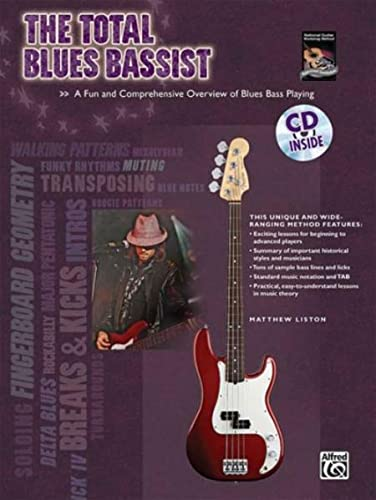 9780739052679: The Total Blues Bassist: A Fun and Comprehensive Overview of Blues Bass Playing, Book & CD (The Total Bassist)